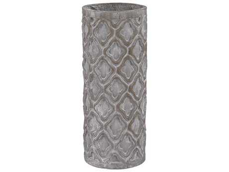Dimond Home Short Antique Gray Vase with Organic Pattern