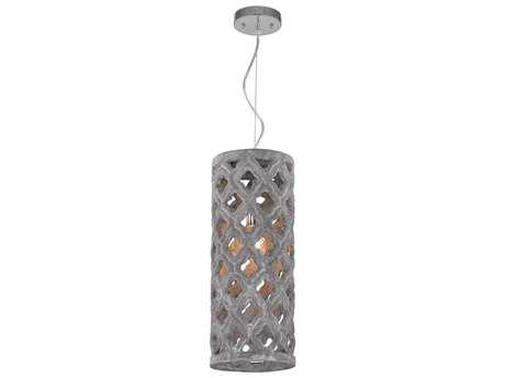 Dimond Home Grey Washed Pendant Light