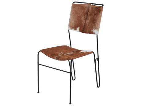 Dimond Home Goatskin Tuft Accent Chair