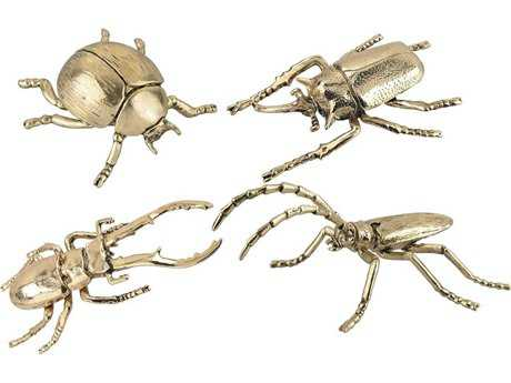 Dimond Home Hand Forged Gold Insects