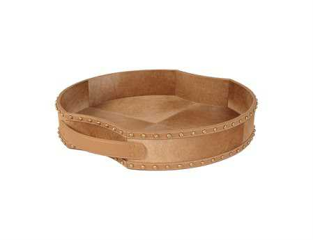 Dimond Home Fallow Faux Pony Tray