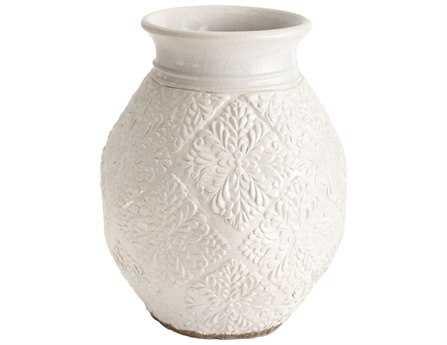Dimond Home Small Milk Trellis Pot