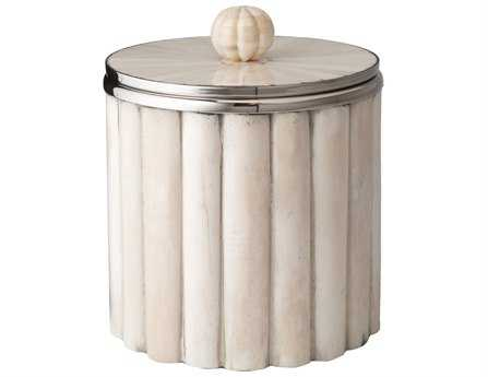 Dimond Home Bone Rod Pattern Ice Bucket