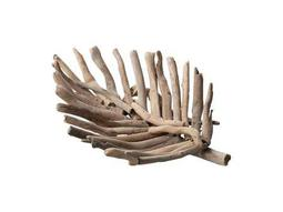 Dimond Home Small Driftwood Leaf Tray