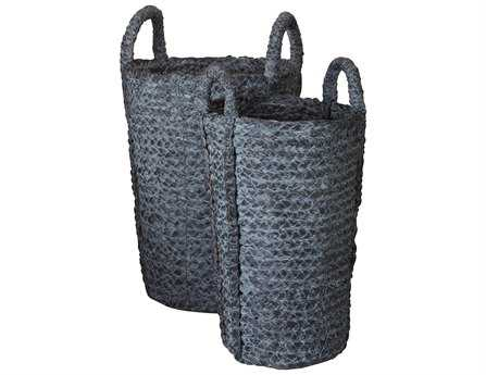 Dimond Home Washed Denim Umbrella Bucket (Set of 2)