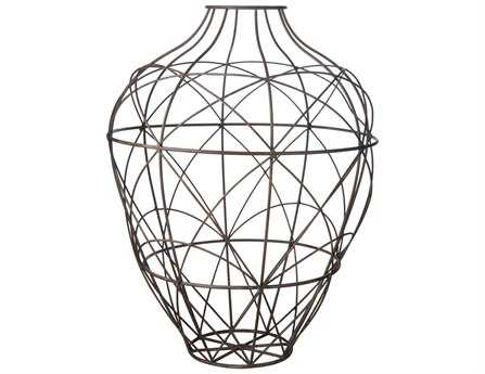 Dimond Home Large Russet Wire Vessel