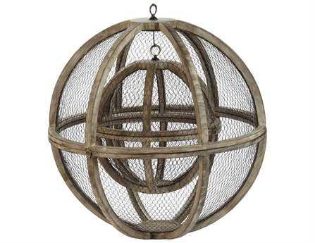Dimond Home Wire Atlas Spheres (Set of 2)