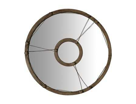 Dimond Home 40 Round Equation Wire Wall Mirror