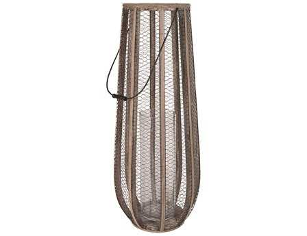 Dimond Home Slim Wire Atlas Hurricane Vase