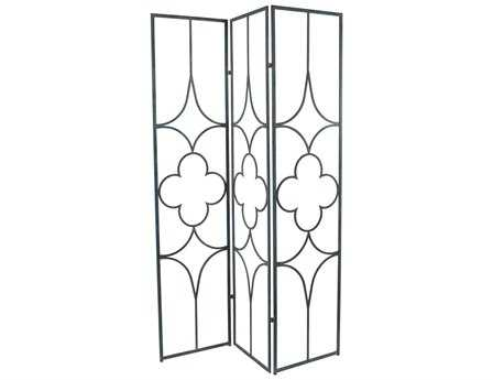 Dimond Home Tarnished Quatrefoil Room Divider