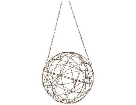 Dimond Home Small Aged Iron Wire Sphere