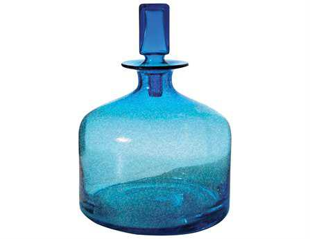Dimond Home Small Pool Blue Decanter