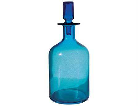 Dimond Home Large Pool Blue Decanter