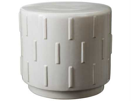 Dimond Home White Tread Stool
