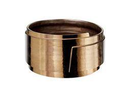 Dimond Home Metallic Alloy Slab Cachepot