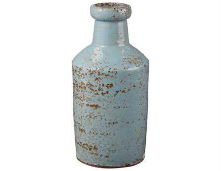 Dimond Home Rustic White Milk Bottle