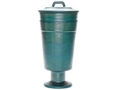Dimond Home Tall Metallic Patina Vase