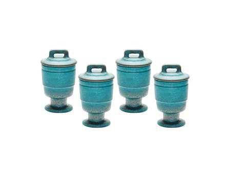 Dimond Home Metallic Patina Filled Votive (Set of 4)