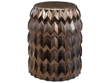 Dimond Home Chevron Bullet Stool