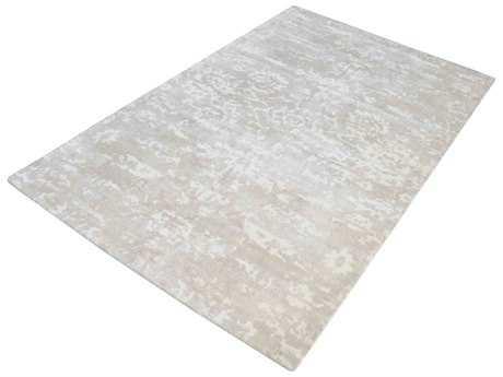 Dimond Home Senneh Rectangular Beige & White Area Rug