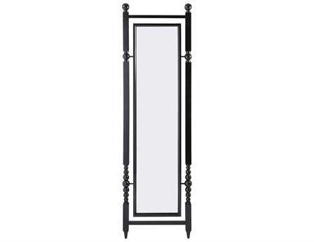 Dimond Home Julianne Black 50W x 183H Rectangular Floor Mirror