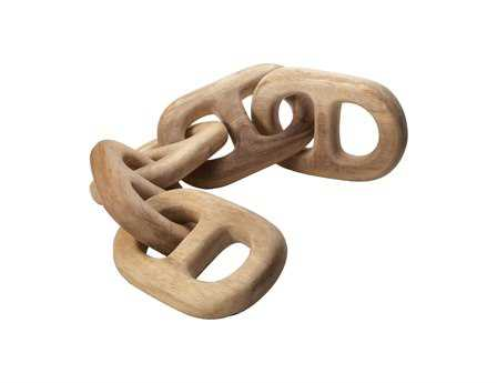 Dimond Home Hand Carved Five Chain Link
