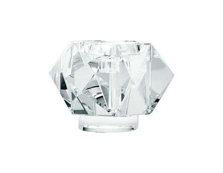 Dimond Home Large Faceted Star Crystal Candle Holder