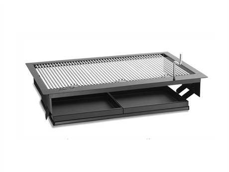 Fire Magic Charcoal Stainless Steel  Firemaster 23'' Built-in BBQ Grill PatioLiving