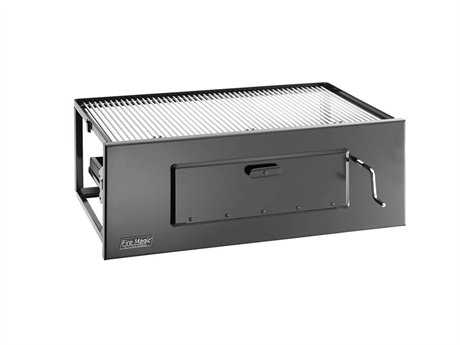 Fire Magic Charcoal Stainless Steel Lift-A-Fire  23'' Built-in BBQ Grill PatioLiving