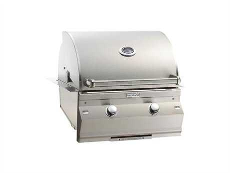 Fire Magic Choice Stainless Steel 24'' C430 Built-in Analog Patio BBQ Grill PatioLiving