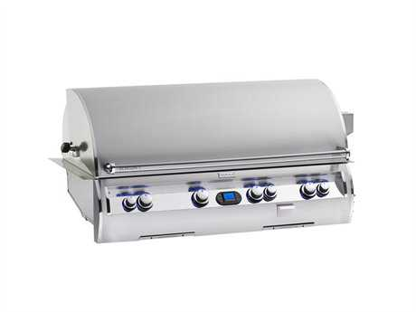 Fire Magic Echelon Diamond Stainless Steel 48'' Built-in Digital Patio BBQ Grill PatioLiving