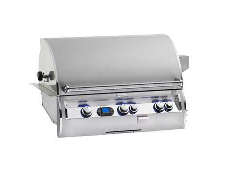 Fire Magic Echelon Diamond Stainless Steel  36'' Built-in Digital Patio BBQ Grill PatioLiving