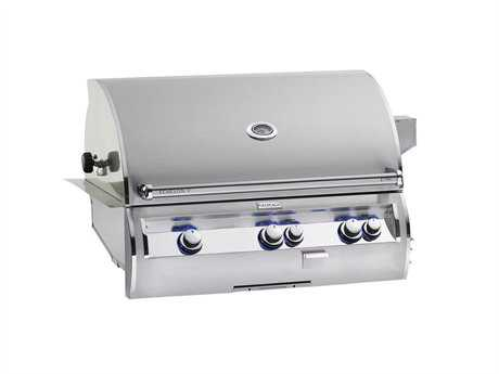 Fire Magic Echelon Diamond Stainless Steel 36'' Built-in Analog Patio BBQ Grill