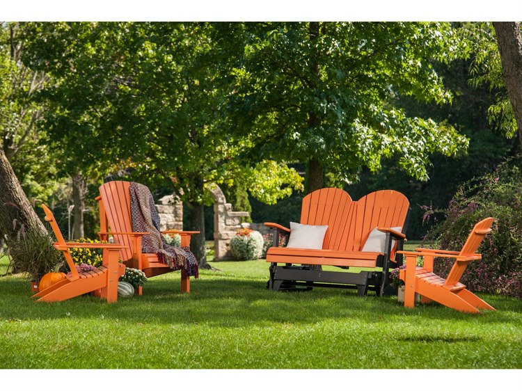 LuxCraft Recycled Plastic Lounge Set PatioLiving