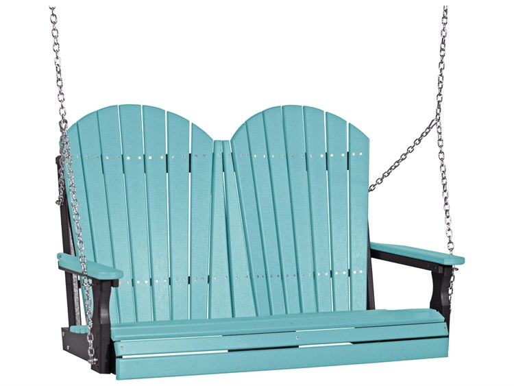 LuxCraft Recycled Plastic 4' Adirondack Swing