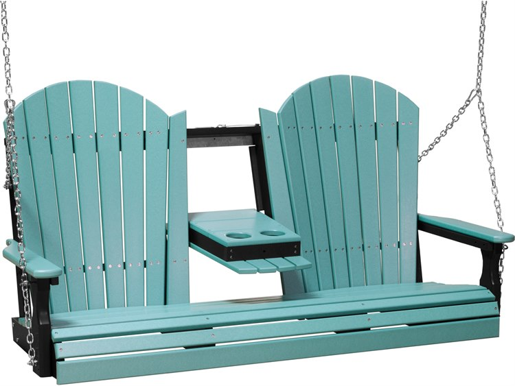 LuxCraft Recycled Plastic 5' Adirondack Swing