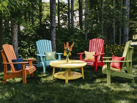 LuxCraft Royal Adirondack Chair Lounge Set
