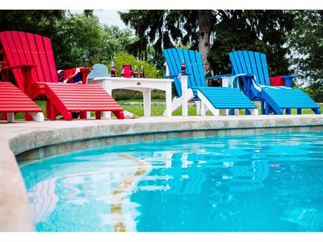 LuxCraft Deluxe Adirondack Chair Lounge Set