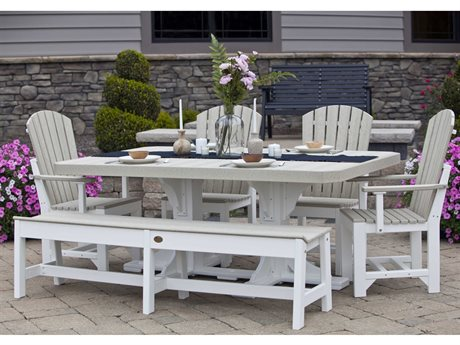LuxCraft Recycled Plastic Dining Set PatioLiving