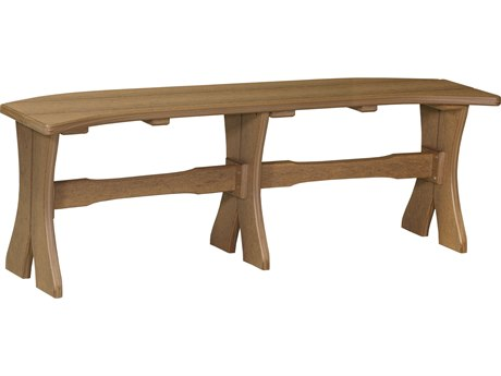 LuxCraft Recycled Plastic 52 Table Bench