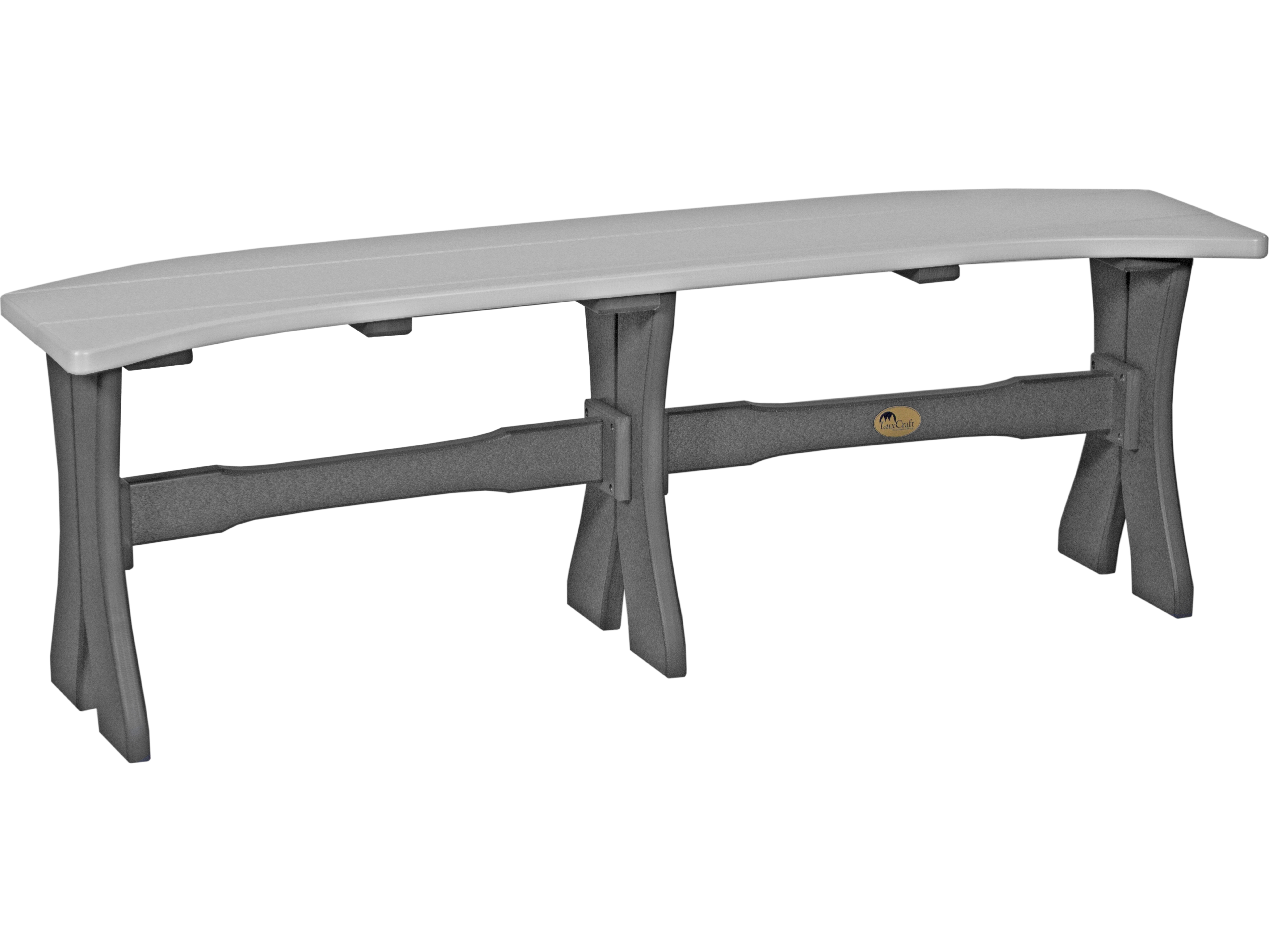 Luxcraft Recycled Plastic 52 Table Bench P52tb Dining