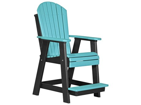 LuxCraft Recycled Plastic Adirondack Balcony Chair LUXPABCCOUNTER