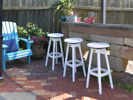 LuxCraft Recycled Plastic Bar Chair Set