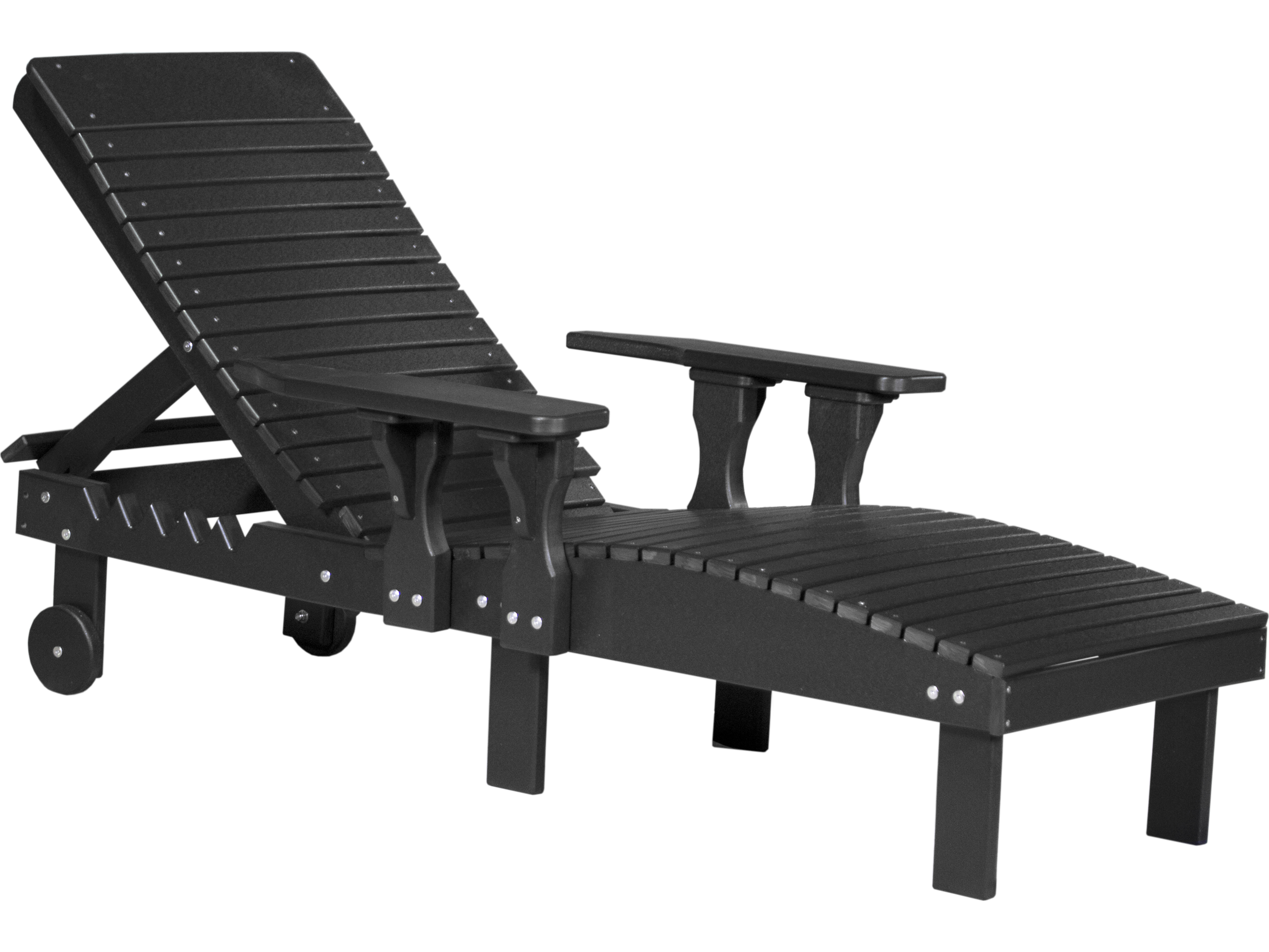 luxcraft recycled plastic chaise lounge plc. Black Bedroom Furniture Sets. Home Design Ideas