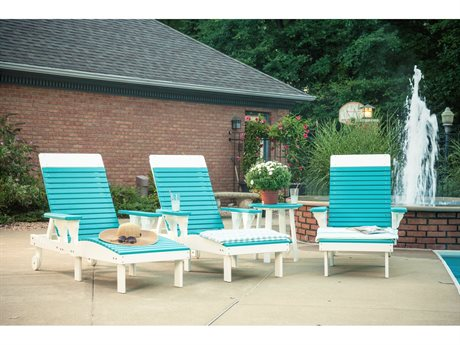 LuxCraft Recycled Plastic Lounge Set