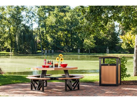 LuxCraft Recycled Plastic Picnic Dining Set