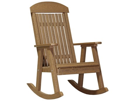 LuxCraft Recycled Plastic Porch Rocker