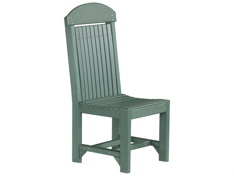 LuxCraft Recycled Plastic Regular Dining Height Chair