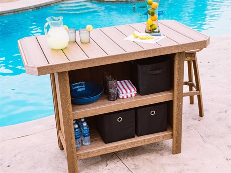 LuxCraft Recycled Plastic Bar Set