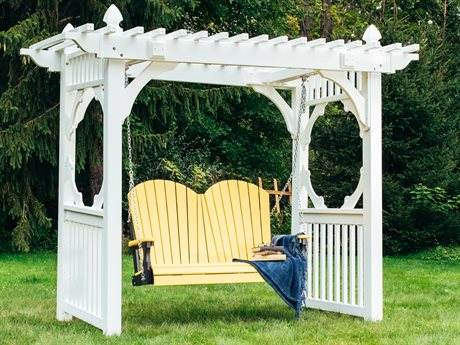 LuxCraft Adirondack Poly Swing Set